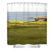 Scottish Golf Shower Curtain