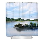 Scottish Highlands Shower Curtain