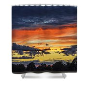 Scottish Sunset Shower Curtain