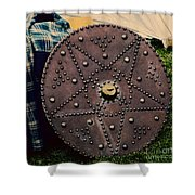 Scottish Targe Shower Curtain