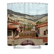 Scotty's Castle Shower Curtain