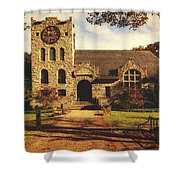 Scoville Memorial Library - Salisbury, Connecticut Shower Curtain