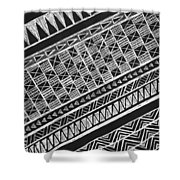 Scratch Kapa 3 Shower Curtain