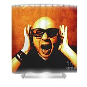 Screamer Shower Curtain