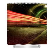 Screaming Tunnel Shower Curtain