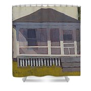 Screened Porch - Art By Bill Tomsa Shower Curtain