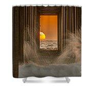 Scrippshenge 2 Shower Curtain
