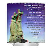 Scripture - Use Red-cyan 3d Glasses Shower Curtain