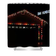 Scrooge Is Alive Shower Curtain by James Eddy