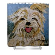 Scruffy Shower Curtain