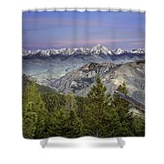 Scull Canyon Shower Curtain