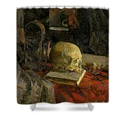 Scull Shower Curtain