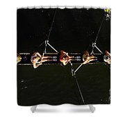 Sculling Shower Curtain