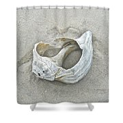 Sculpted By The Atlantic Ocean Shower Curtain