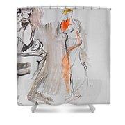 Sculpture Shower Curtain