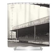Scunthorpe United - Old Showground - Doncaster Road End 1 - 1960s Shower Curtain