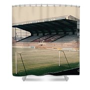 Scunthorpe United - Old Showground - East Stand 2 - 1970s Shower Curtain