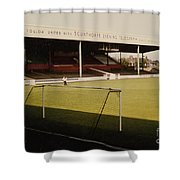 Scunthorpe United - Old Showground - Main Stand 2 - 1970s Shower Curtain