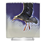 Sea And Shore #1 Shower Curtain