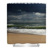 Sea And Sky - Jersey Shore Shower Curtain