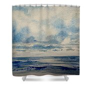 Sea And Sky Shower Curtain