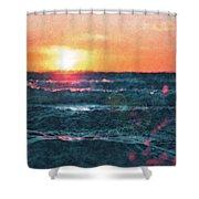 Sea And Sun Shower Curtain
