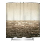 Sea At Sunrise Shower Curtain