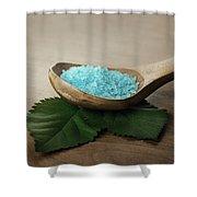 Sea Bath Salt Shower Curtain