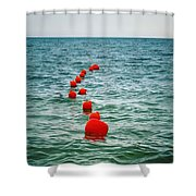 Sea Berries Shower Curtain