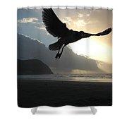 Sea Bird 3 Shower Curtain