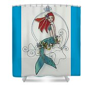 Sea Breeze Shower Curtain