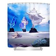 Sea Dancers Shower Curtain
