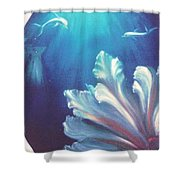 Sea Fan Shower Curtain