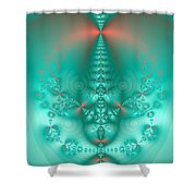 Sea Foam 2 Shower Curtain
