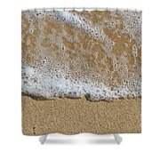 Sea Foam Shower Curtain