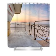 Sea For Miles Shower Curtain