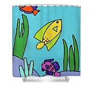 Sea Frolic Shower Curtain