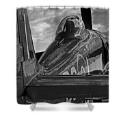 Sea Fury Reflections Shower Curtain