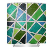 Sea Glass Revisited Shower Curtain