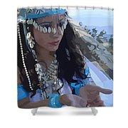 Sea Goddess Shower Curtain