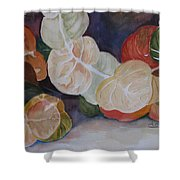 Sea Grapes Shower Curtain