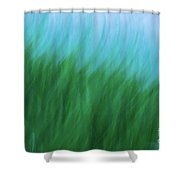 Sea Grass Breeze Shower Curtain