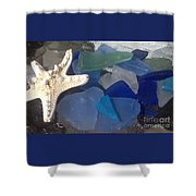 Sea Jewels Shower Curtain