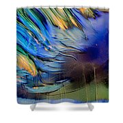 Sea Monster Shower Curtain by Omaste Witkowski
