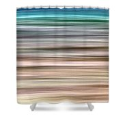 Sea Movement Shower Curtain by Stelios Kleanthous