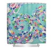 Sea Nymph Shower Curtain