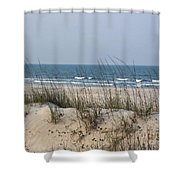 Sea Oats By The Ocean Shower Curtain