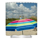 Sea Oats On The Beach Shower Curtain