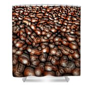 Sea Of Beans Shower Curtain