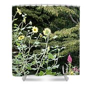 Sea Of Beautiful Flowers Shower Curtain